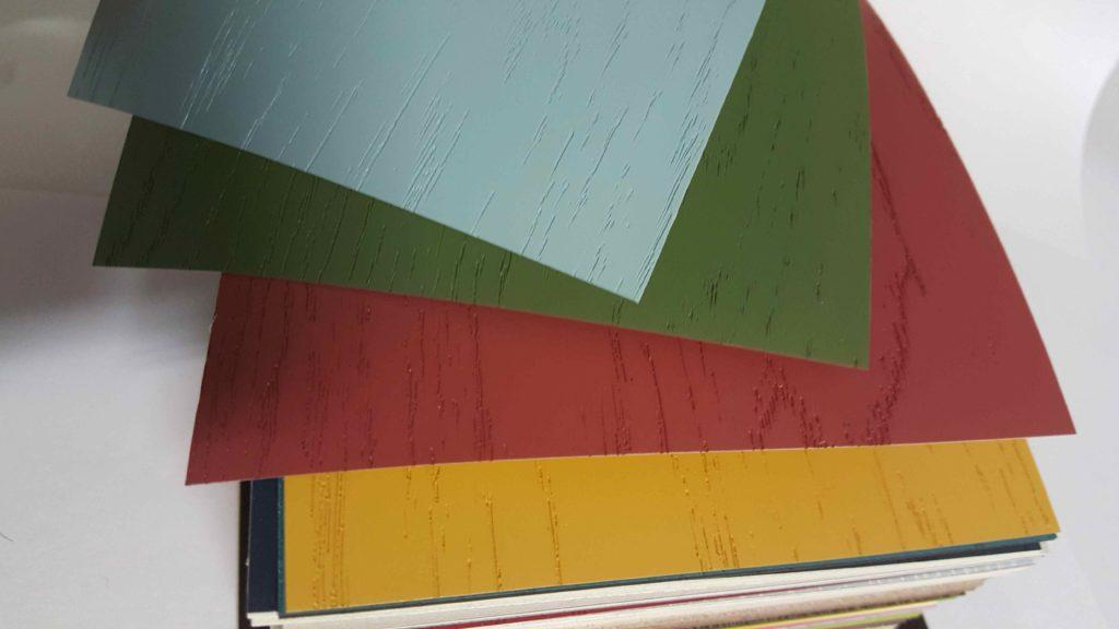 Фасады в пленке ПВХ