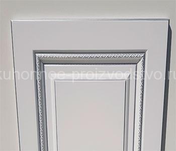 Классические фасады пленка ПВХ с патиной серебро модель София