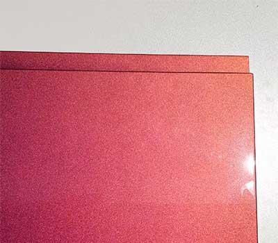 Крашенные фасады с интегрированной ручкой хамелеон