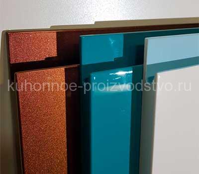 Кухонные фасады эмаль с интегрированной ручкой