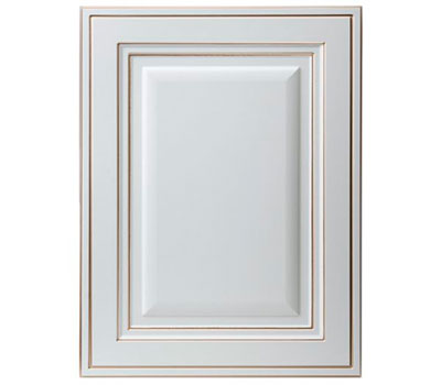 Мебельные дверцы Сарбона белый грунт
