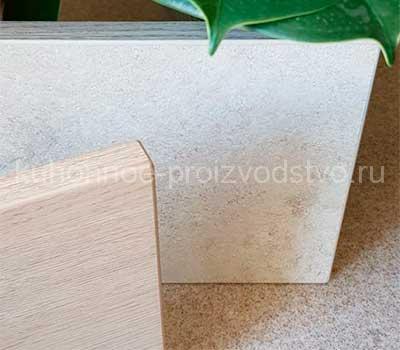 Мебельные фасады Arpa древесные и бетонные оттенки