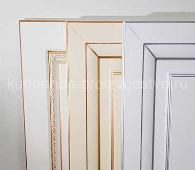 Мебельные фасады МДФ с патиной