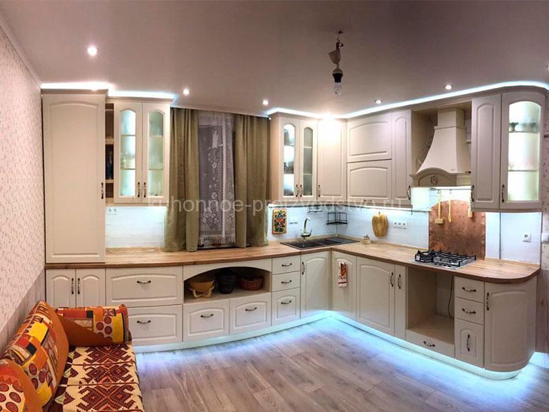 Кухни в классическом стиле эмаль