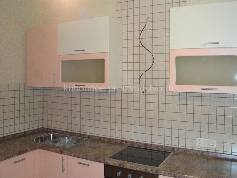 Кухня в пленке ПВХ Розовый фламинго