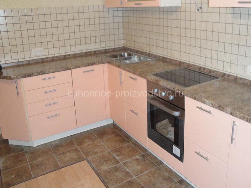 Кухня в пленке Розовый фламинго